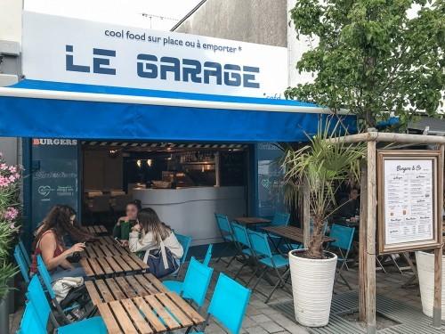 Restaurant Le Garage : les burgers mini prix, maxi plaisir à Pornichet