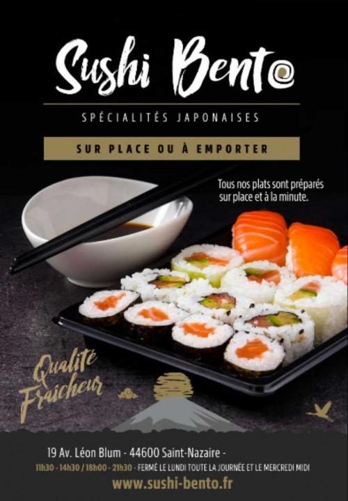 Saint-Nazaire : Sushi Bento ouvre à deux pas de la mairie