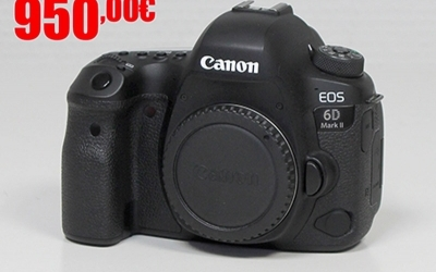Canon EOS 6D Mark II d'occasion