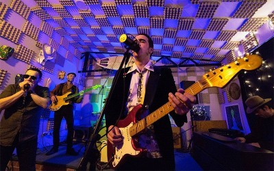 Cesar Crespo and the Pinball's Blues Party