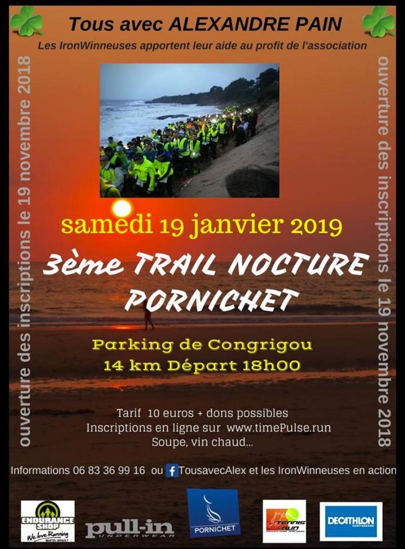 3ème trail nocturne de Pornichet