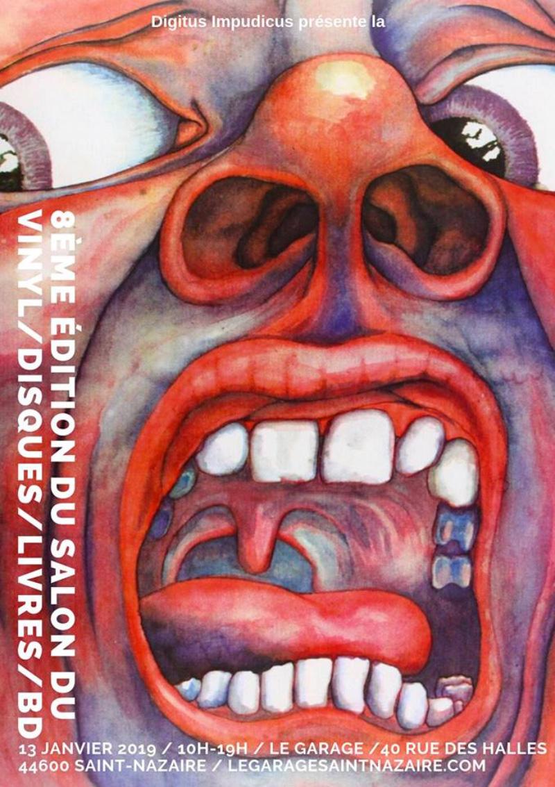 8ème édition du salon du disque, vinyle, livre, BD