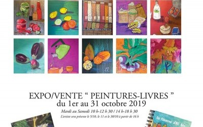 Expo-vente Peintures Livres