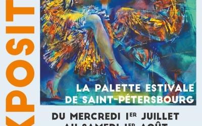 Exposition Palette Estivale de Saint-Pétersbourg