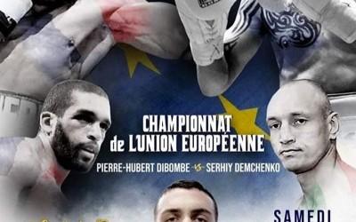 Gala de Boxe : championnat d'Europe