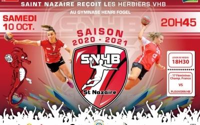 Handball : Saint-Nazaire contre les Herbiers