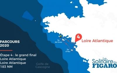 La Solitaire du Figaro fait étape à Saint-Nazaire