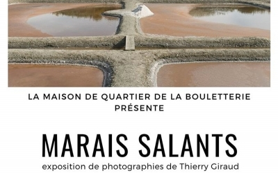 Marais Salants : exposition photo de Thierry Giraud