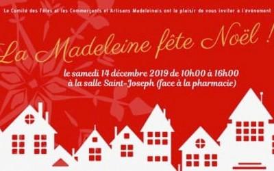 Marché de Noël à La Madeleine