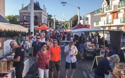 Marché nocturne de Saint-Marc-sur-Mer