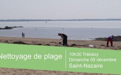 Nettoyage de plage