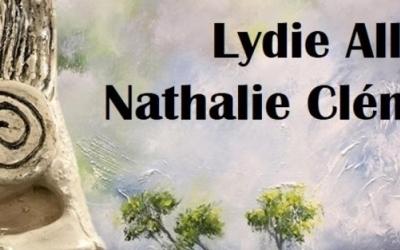 Peintures de Lydie Allaire et Nathalie Clément