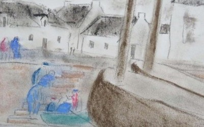 Peintures de paysages du Littoral de Saint-Nazaire à Batz-sur-Mer