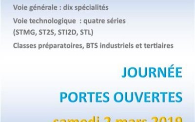 Portes ouvertes au Lycée Aristide Briand