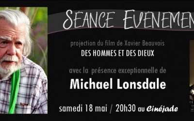 Projection du film Des Hommes et des Dieux en présence de l'acteur Michael Lonsdale