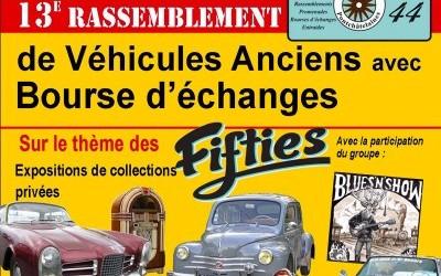 Rassemblement de véhicules anciens et bourse d'échanges