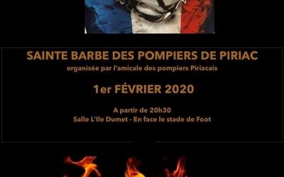 Sainte Barbe des pompiers de  Piriac