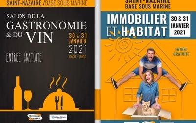 Salon Immobilier et Habitat + Salon de la Gastronomie 2021