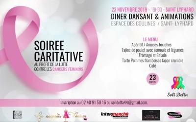 Soirée caritative - cancers féminins