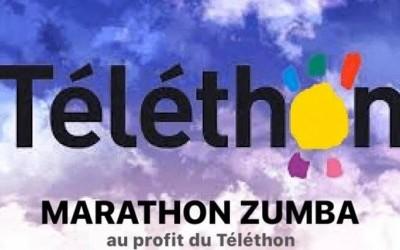 Téléthon : marathon zumba