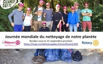 World Clean Up Day à Bonne Source