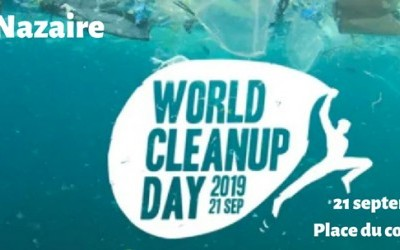 World Clean Up day à Saint-Nazaire