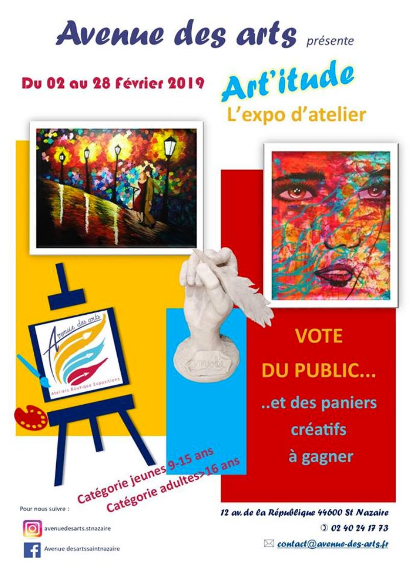Art'itude: l'expo d'atelier