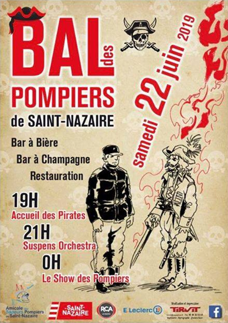 Bal des Pompiers de Saint-Nazaire