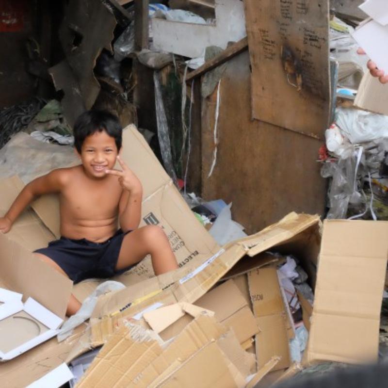 Bidonvilles de Manille : regards sur une grande pauvreté