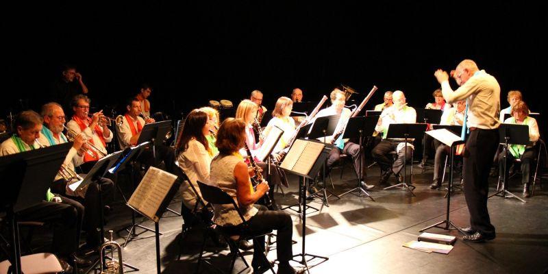 Concert de l'orchestre d'harmonie du pays blanc