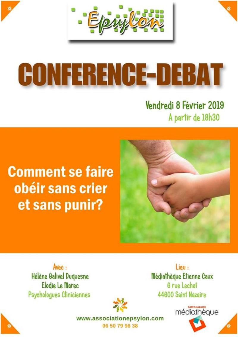Conférence : Comment se faire obéir sans crier et sans punir ?