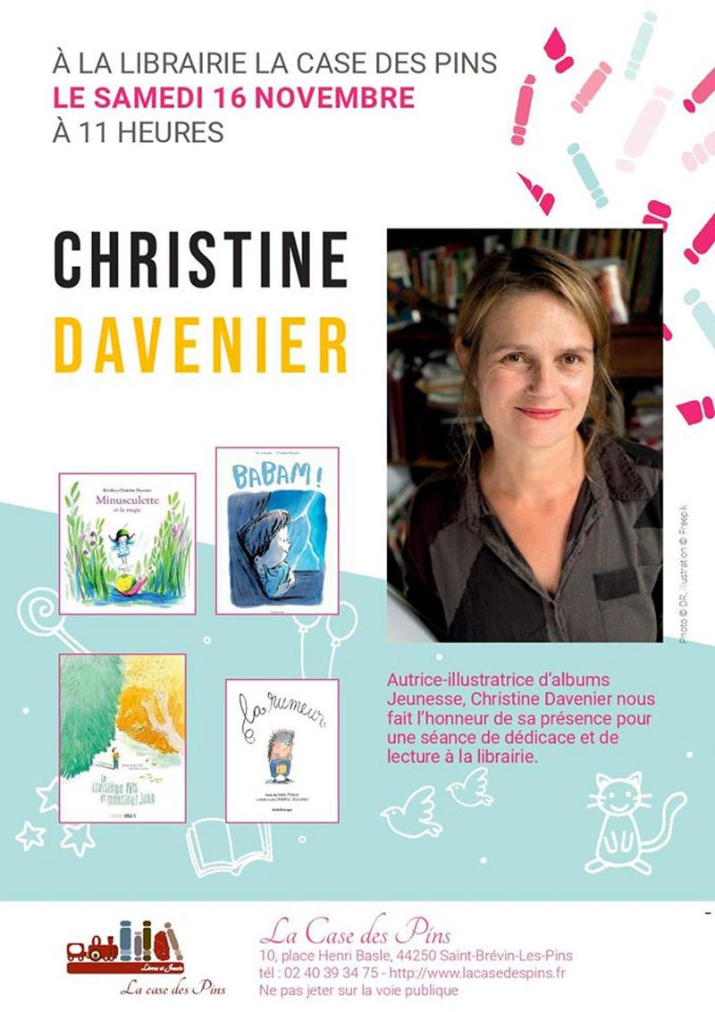 Dédicace Christine Davenier