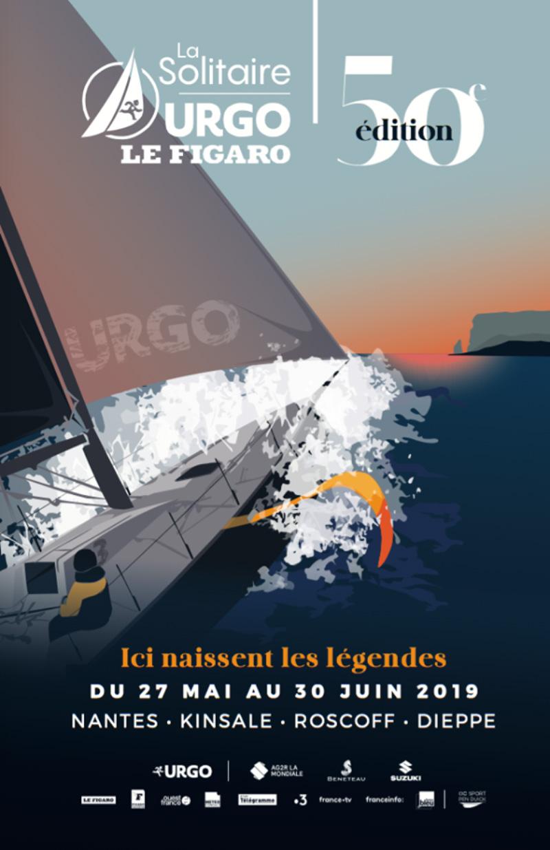 Départ de la 50ème édition de la Solitaire Urgo Le Figaro