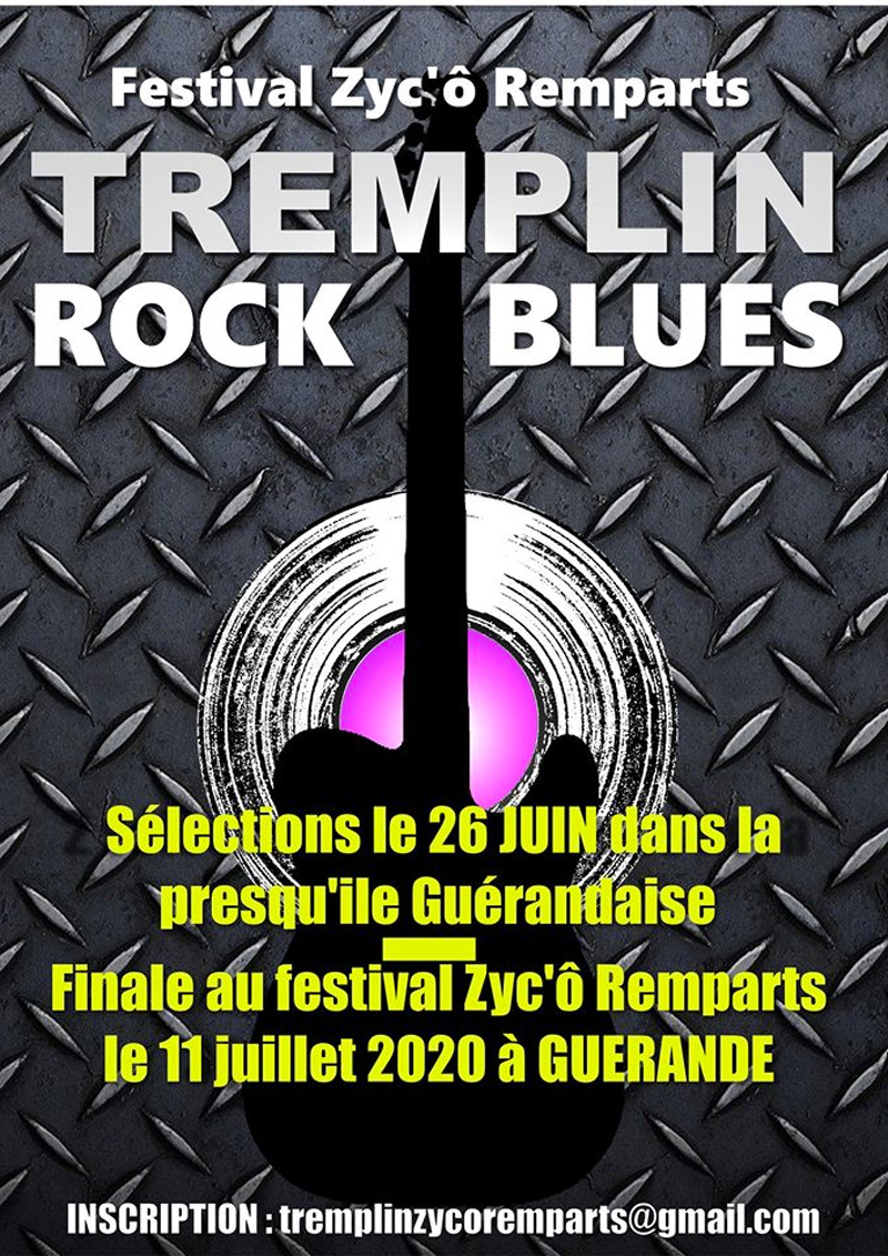 Festival Zyc' Ô Remparts, tremplin rock blues