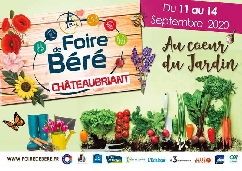 Foire de Béré Chateaubriant 2020