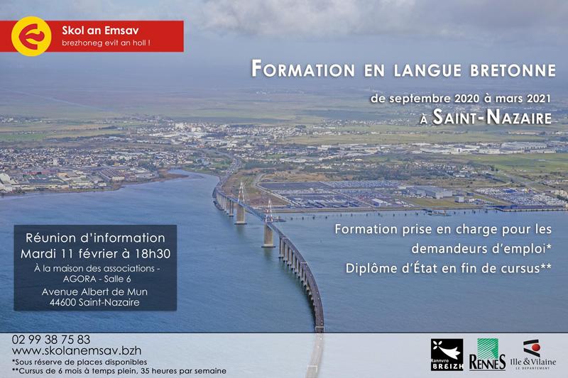 Formation en langue bretonne : réunion d'information