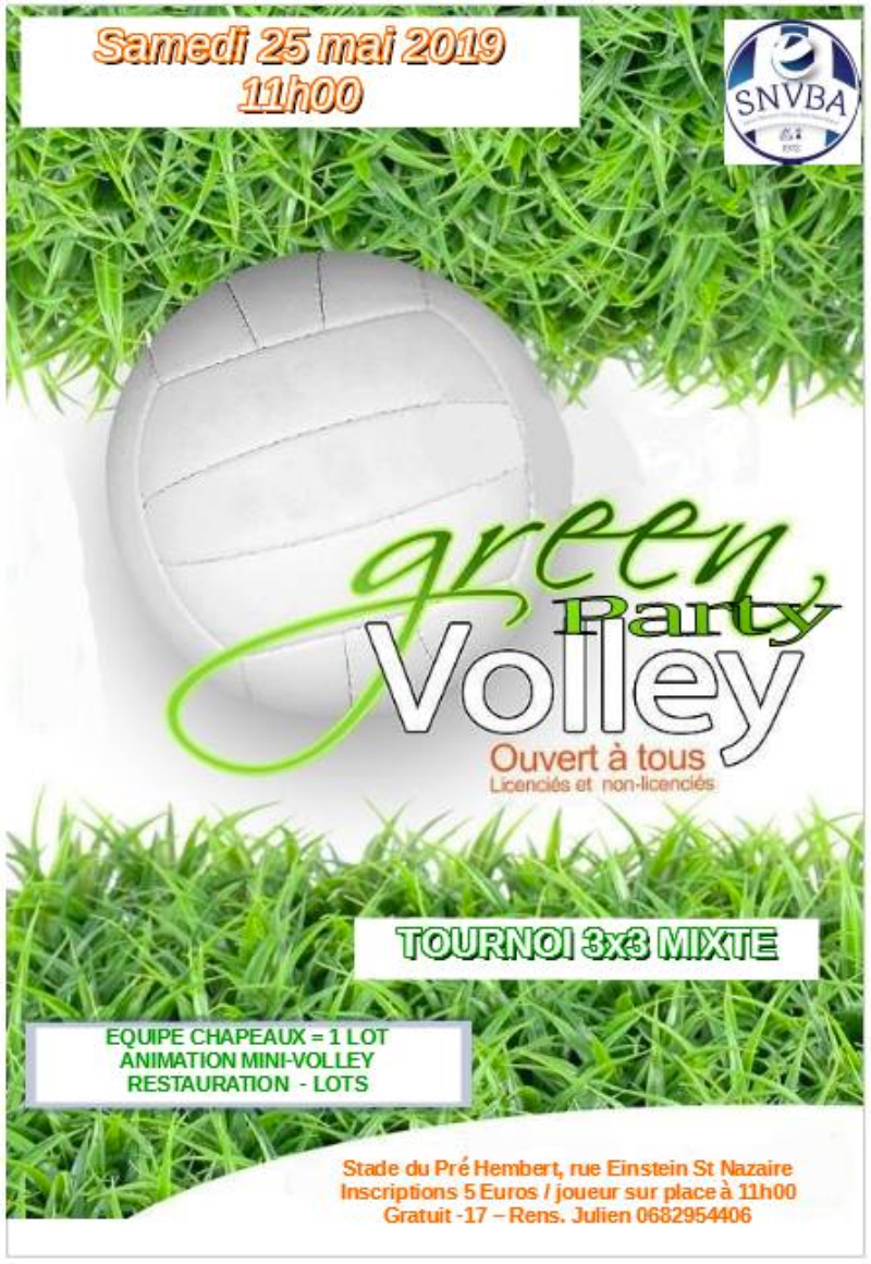 Green Volley Party