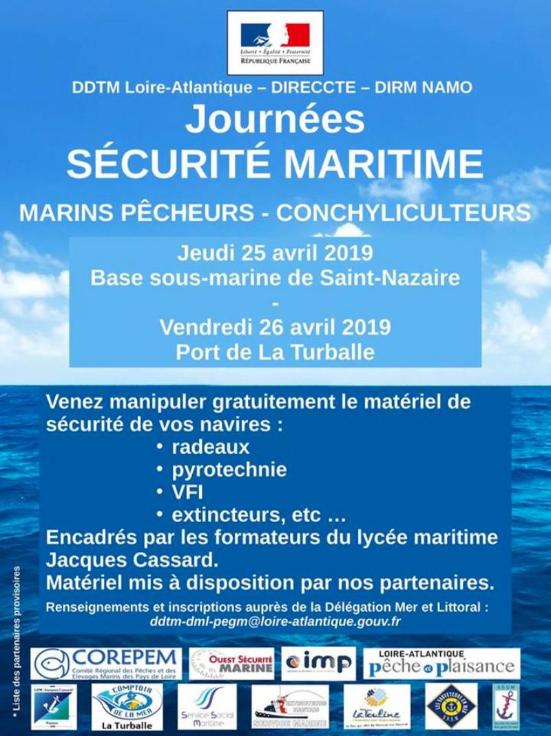 Journées sécurité maritime