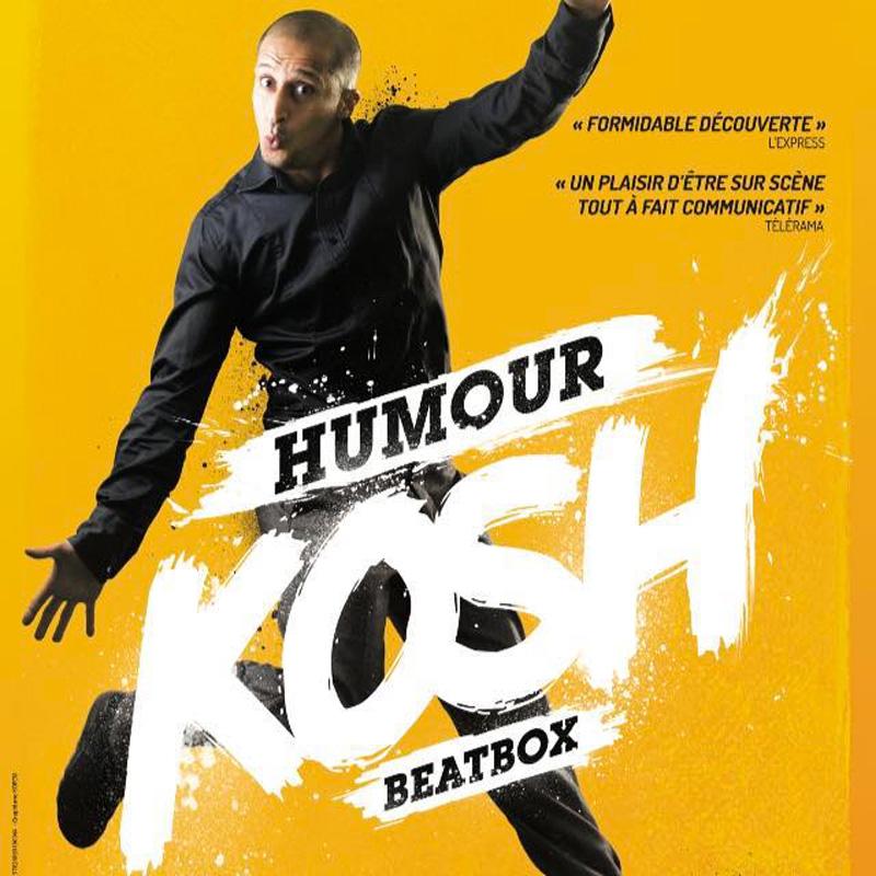Kosh, humour et beatbox sur le toit de la base sous-marine