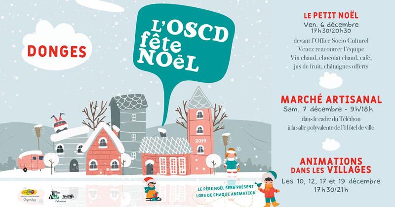 L'OSCD fête Noël à Donges