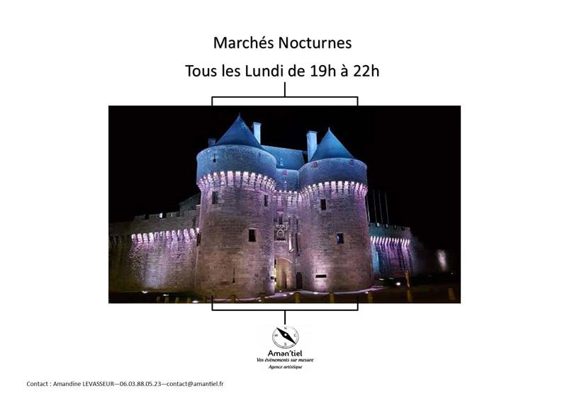 Marché nocturne de Guérande