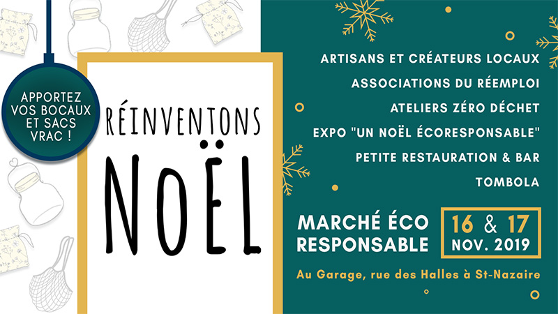 Réinventons Noël : marché éco-responsable
