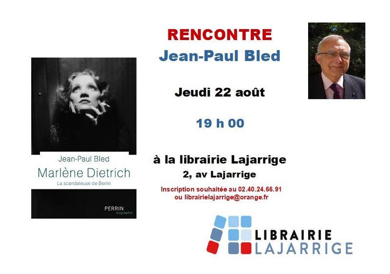 Rencontre avec Jean-Paul Bled
