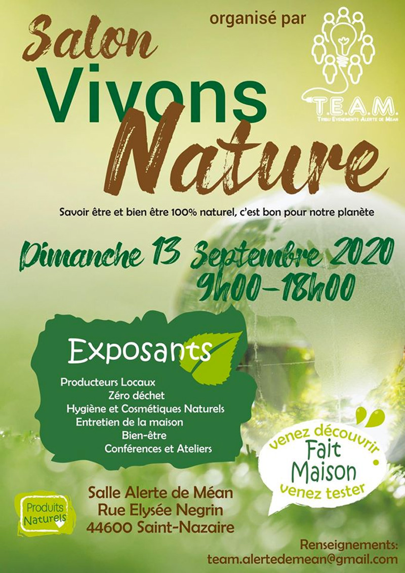 Salon Vivons Nature