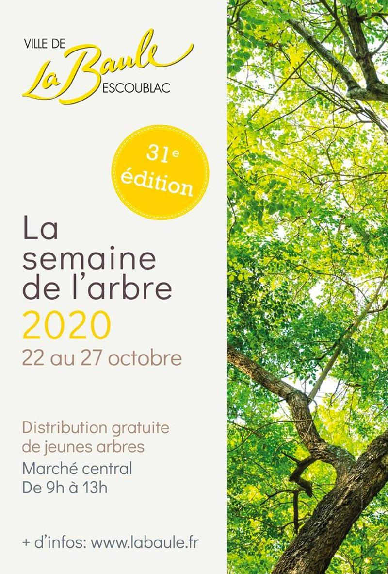 Semaine de l'arbre 2020