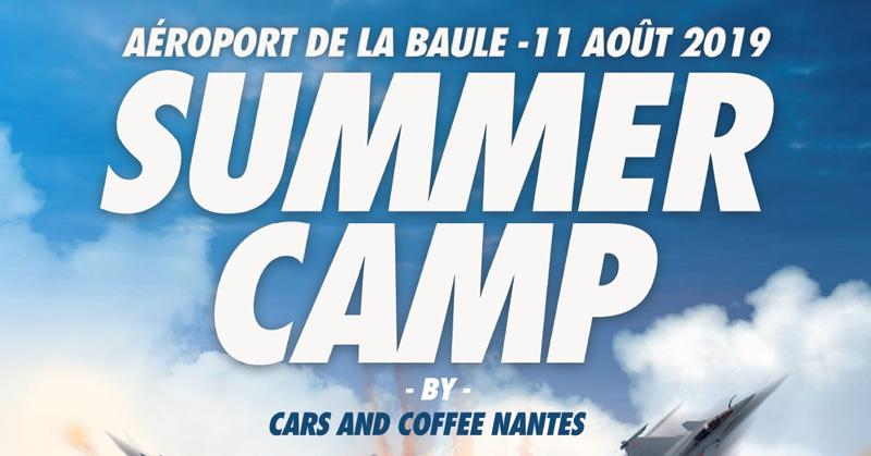 Summer camp Cars & Coffee