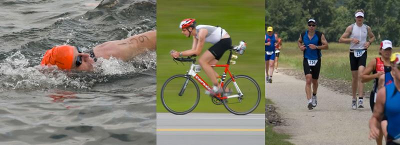 Swim Bike and Run