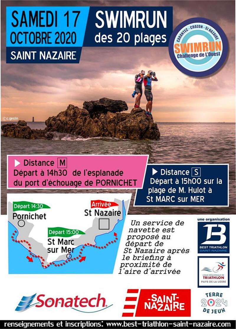 Swimrun des 20 plages