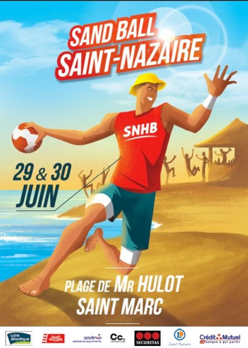 Tournoi de Sandball