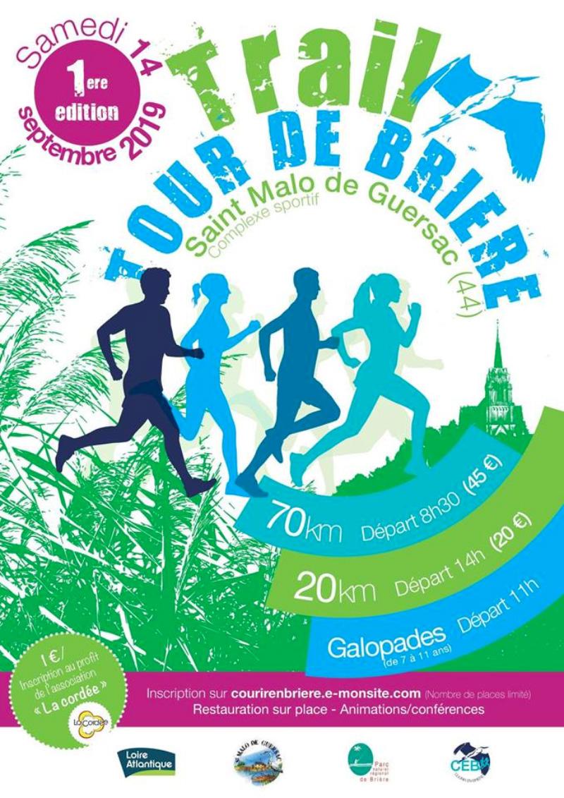 Trail tour de Brière
